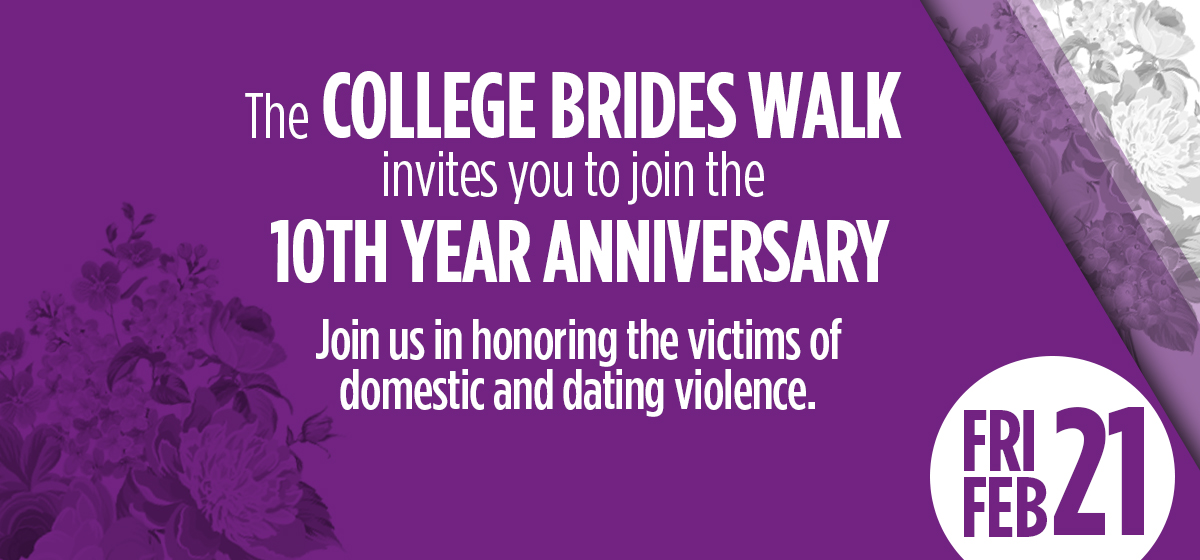 Walk in honor of domestic and dating violence victims.