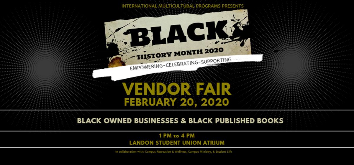 Black History Month: Vendor Fair