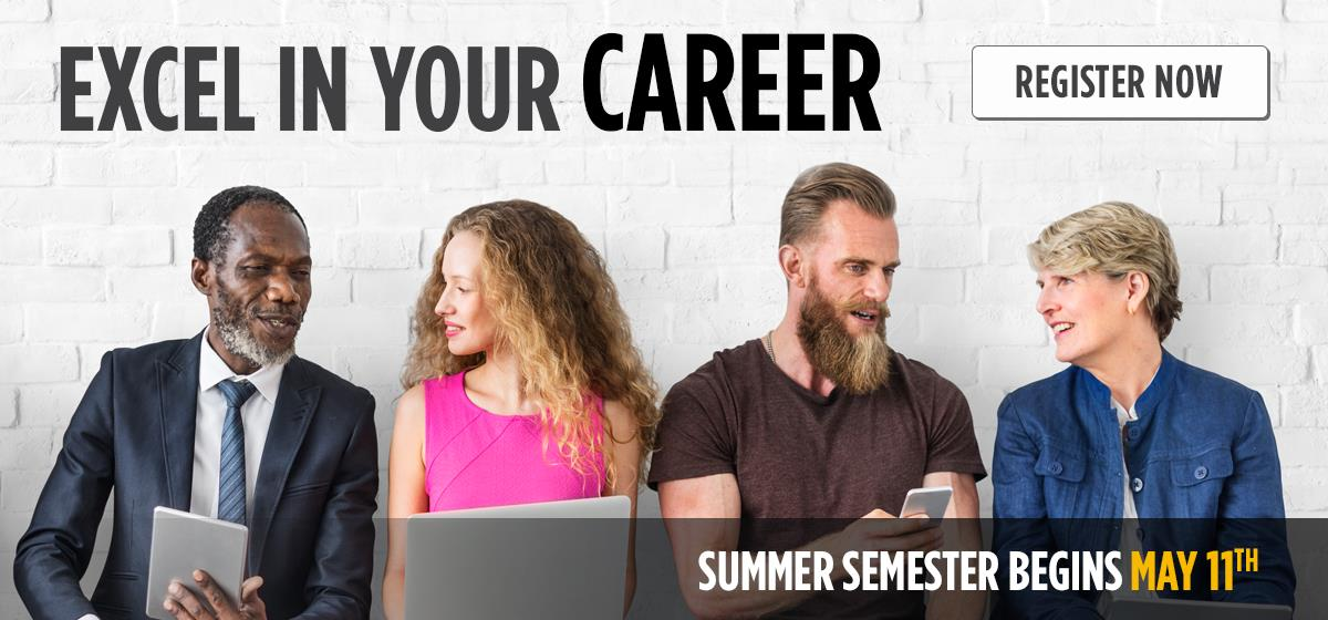 Semester begins May 11th - Register Now!