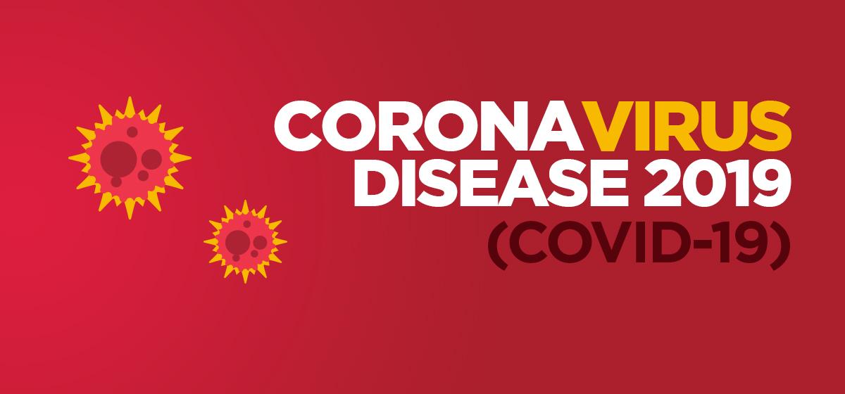 Coronavirus Disease 2019 (COVID-19) Update #3