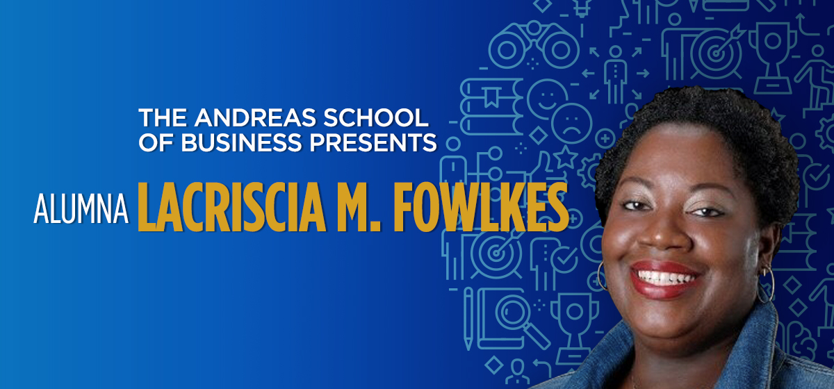 Seek out your path to professional growth with Barry Alumna LaCriscia Fowlkes!