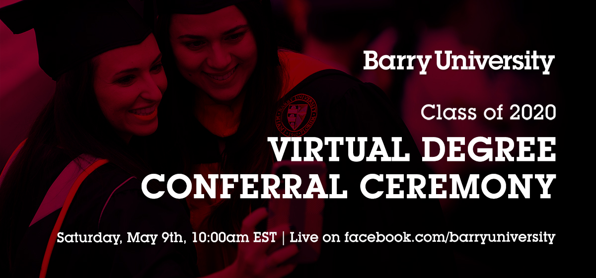 Virtual Degree Conferral Ceremony