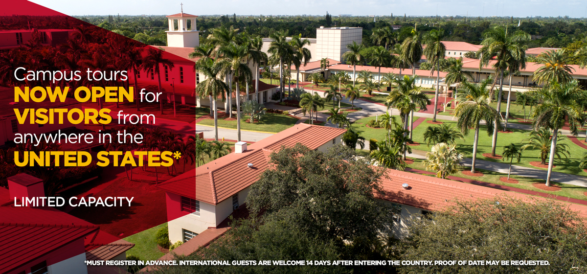 Campus Tours Open to Florida Residents