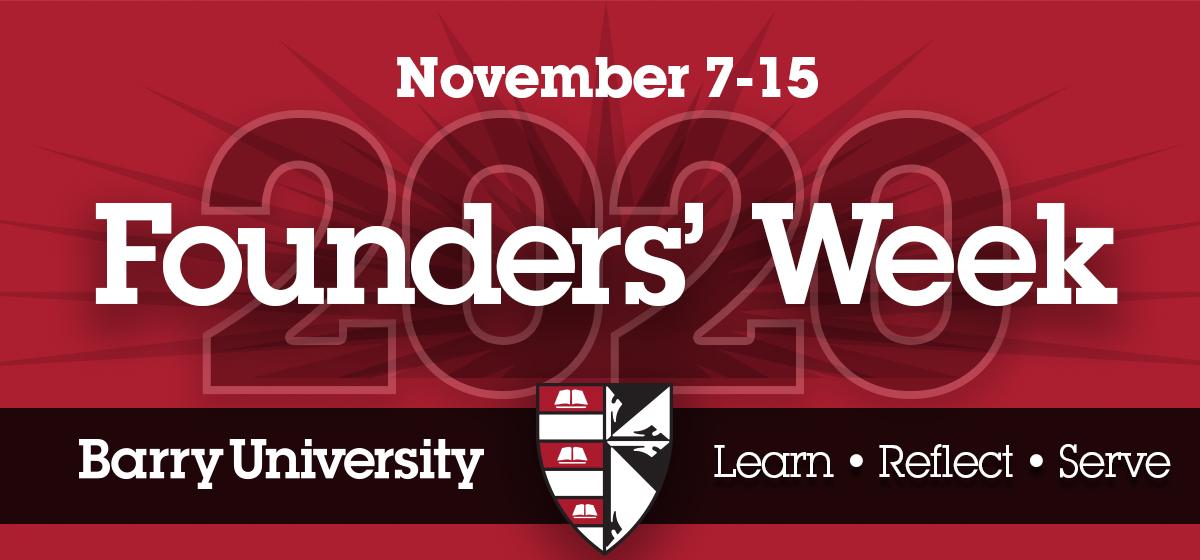 Founders' Week: Nov 7-15