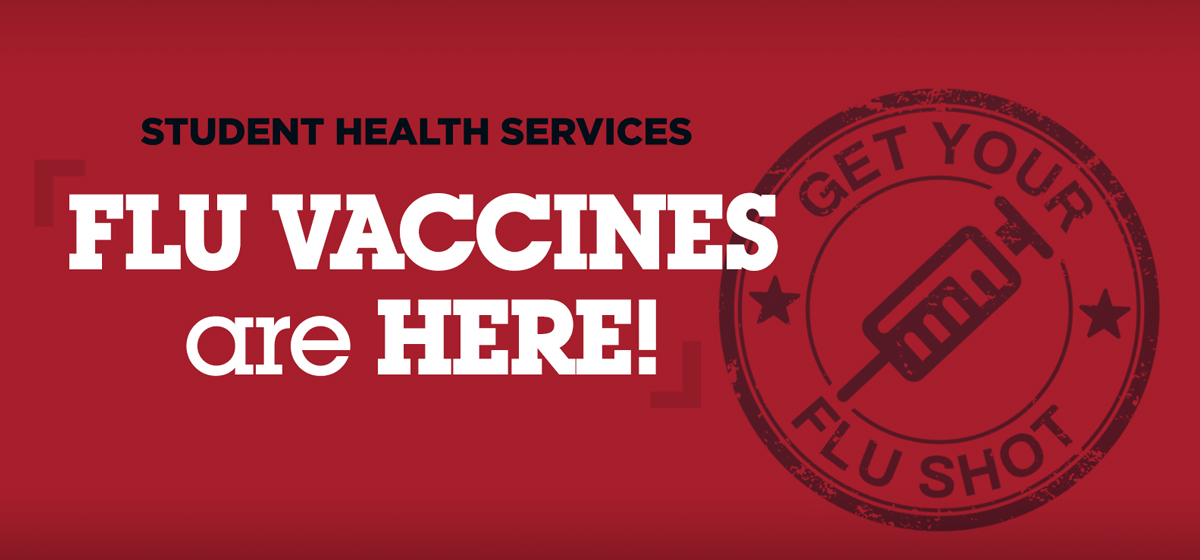 Flu Vaccines are here!