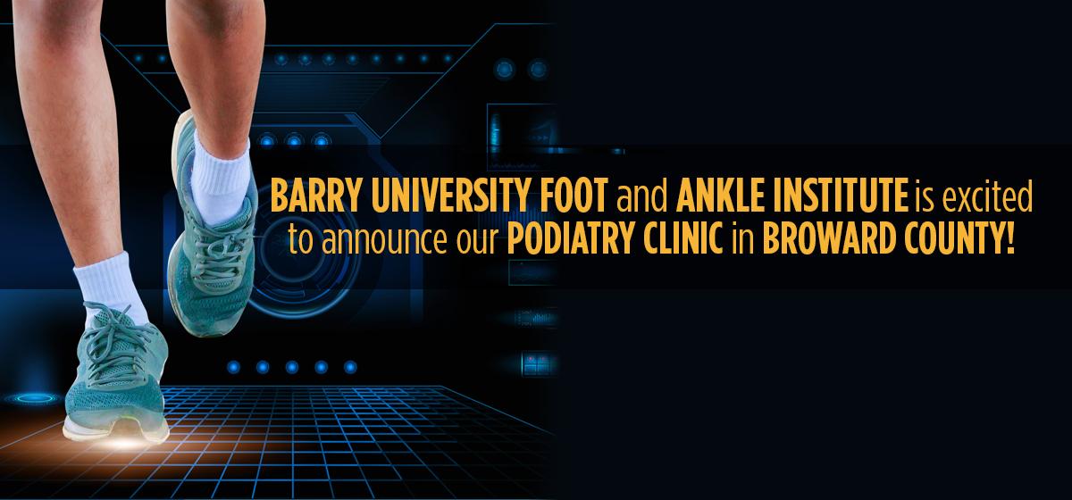 Celebrating Barry's new podiatric practice in Tamarac!