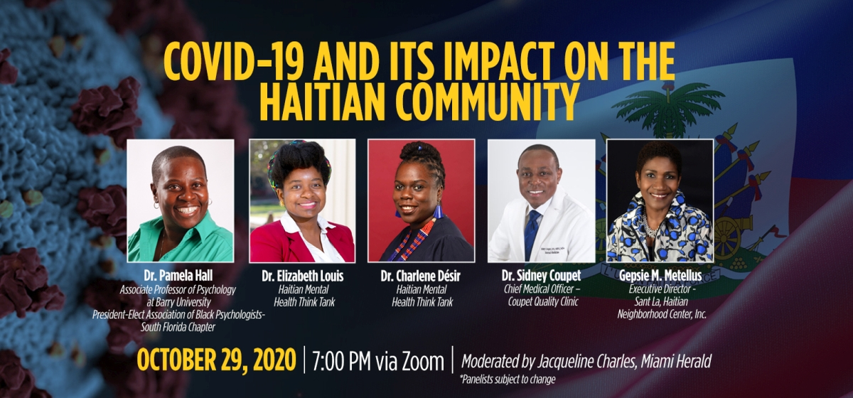 COVID-19 and its Impact on the Haitian Community