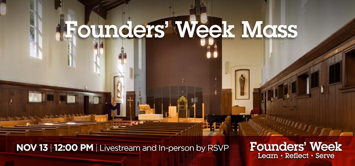Founders' Week Mass