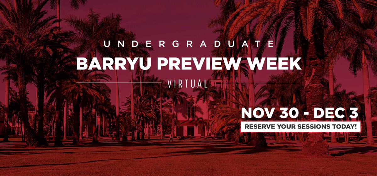 BarryU Preview Week