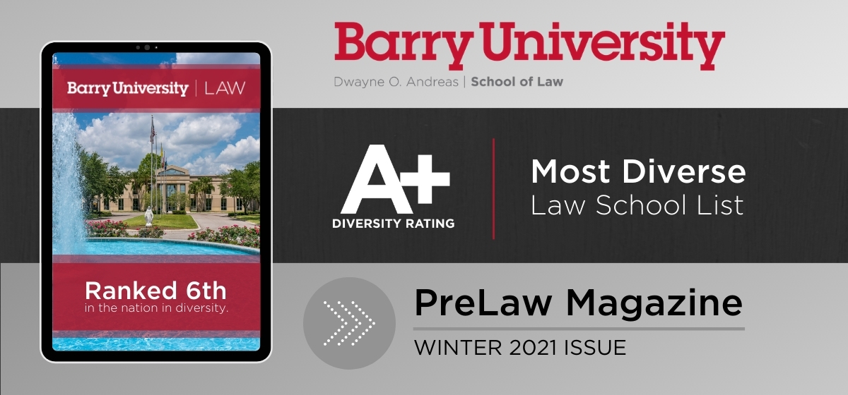 Barry Law Receives A+ Rating in Diversity