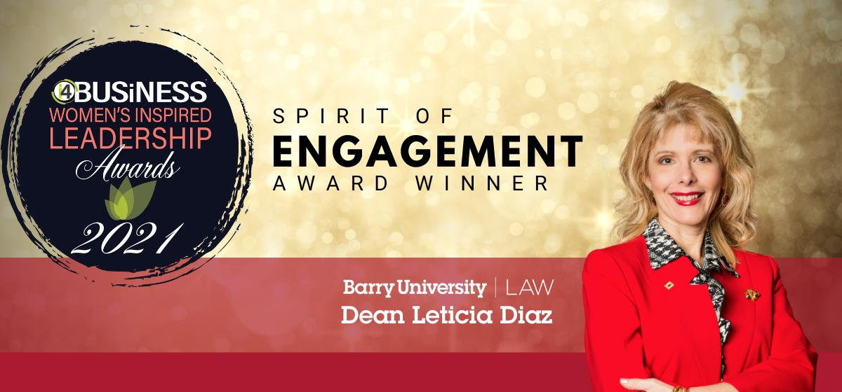 Dean Diaz wins Spirit of Engagement Award