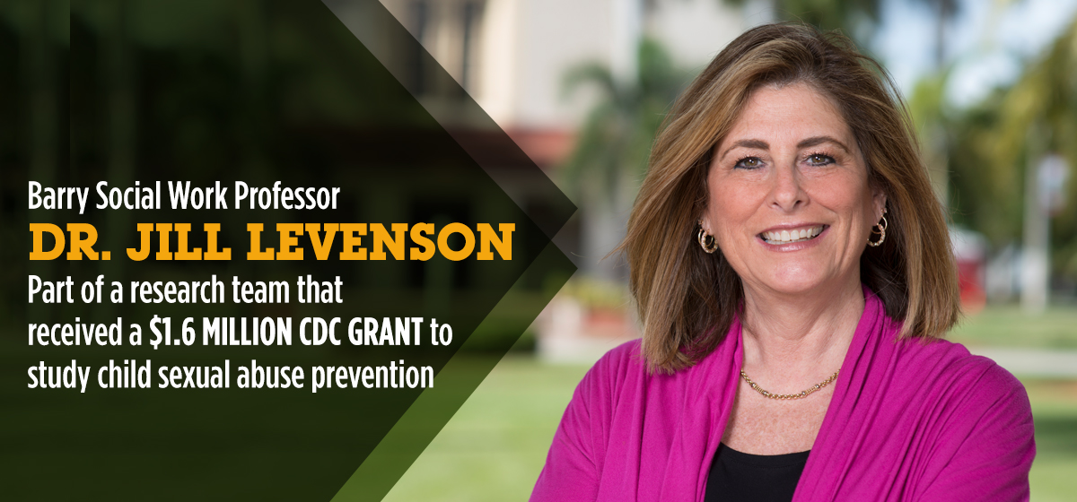 Congratulations on Dr. Levenson's research grant funding a groundbreaking prevention project!