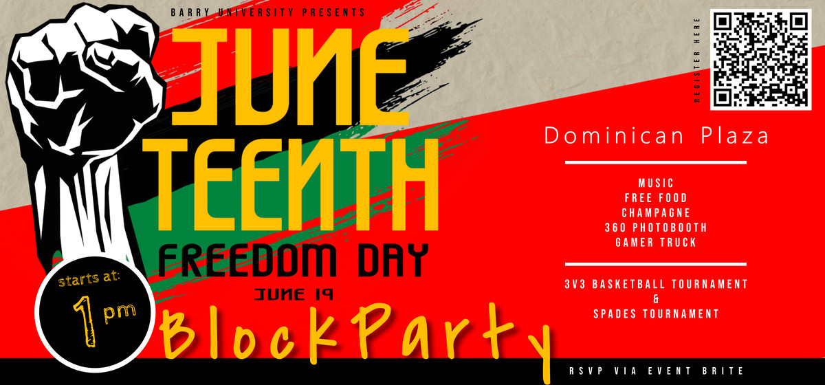 Juneteenth Freedom Day Block Party