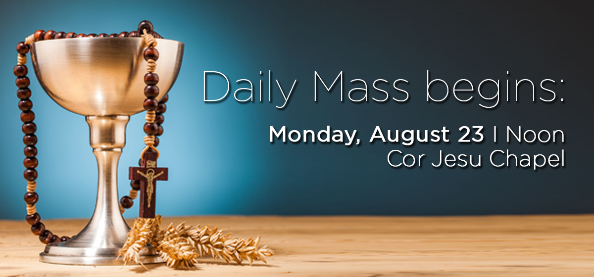 Campus Ministry: Daily Mass