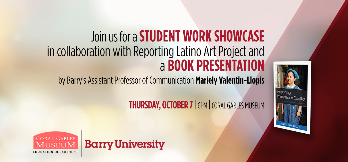 Join us for a student work showcase in collaboration with Reporting Latino Art Project