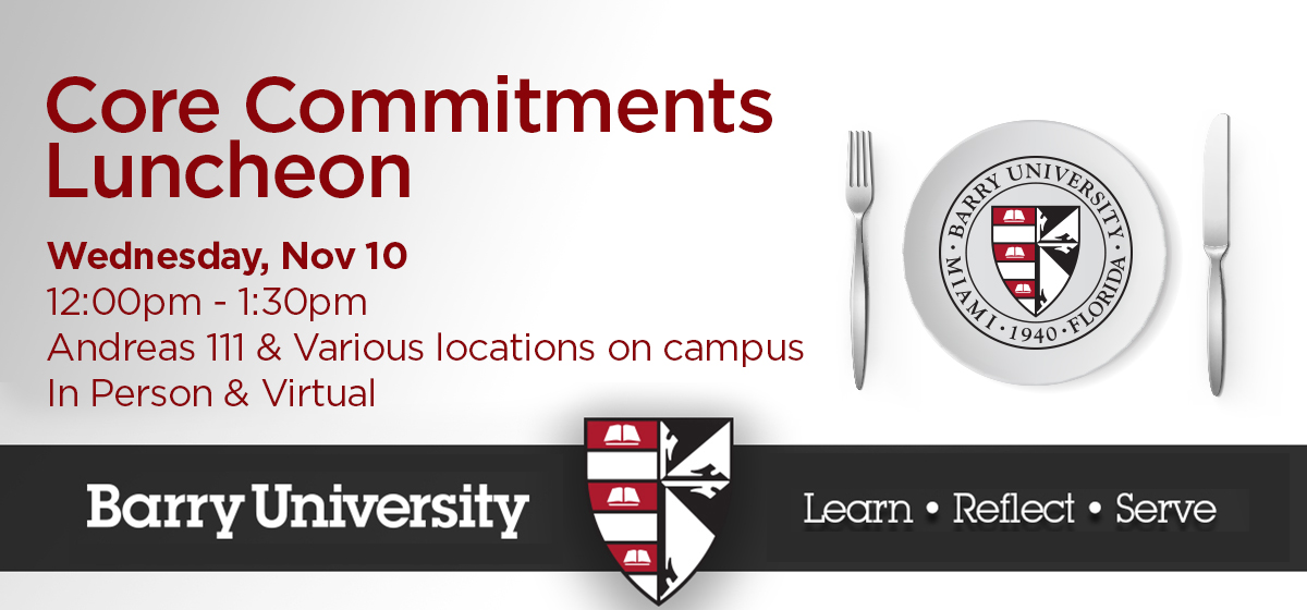 Core Commitments Luncheon