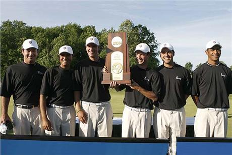 Men's Golf Wins NCAA Division II Championship