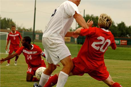 Men's Soccer Eludes Rangers