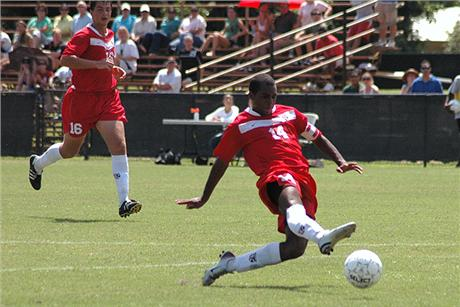 Men's Soccer Upsets Fifth-Ranked Railsplitters