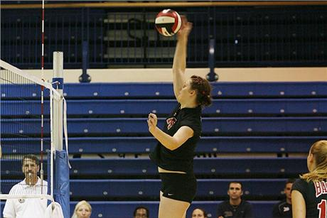 Volleyball Drops Third Straight