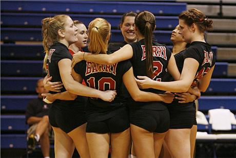 Volleyball Falls to Lions at Regional Crossover