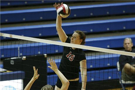Volleyball Sweeps Pair At Crossover