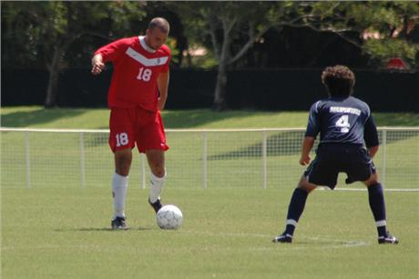 Men's Soccer Draws 0-0 With Sharks
