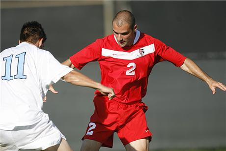 Men's Soccer Burns Saints