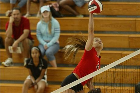 Volleyball Sinks Tars for Second Straight SSC Win