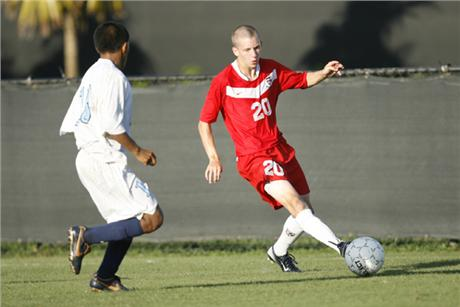Men's Soccer Skewered By Tritons