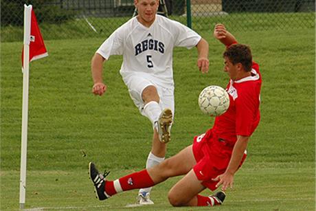 Men's Soccer Falls In Double OT