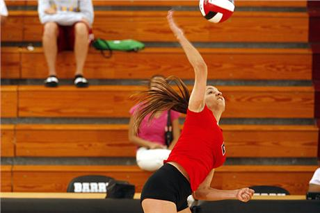 Volleyball Downs Bobcats in Three
