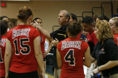 Volleyball Falls To Top-Ranked Spartans
