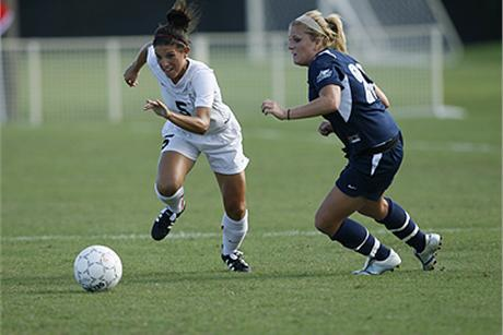 Women's Soccer Sends Saints Marching Home
