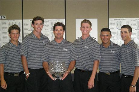 Men's Golf Wins NSU Sharks Fall Invitational