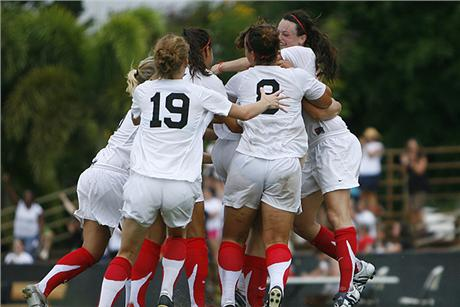 Women's Soccer Upsets Lions