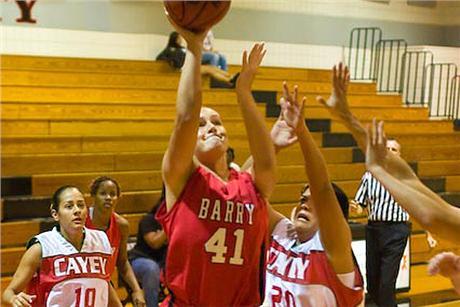 Women's Basketball Downs Sailfish