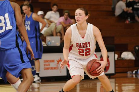 Women's Basketball Rallies Back to Cage Panthers