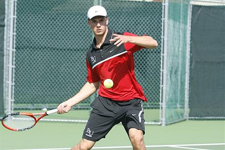 Men's Tennis Picks Up Second Straight SSC Win