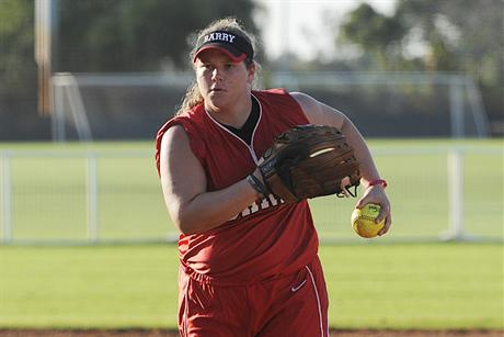 Softball Squeaks By Albany State