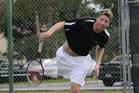 Men's Tennis Plucks Monmouth Hawks 9-0