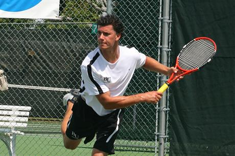 Men's Tennis Knocks Off Third-Ranked Knights