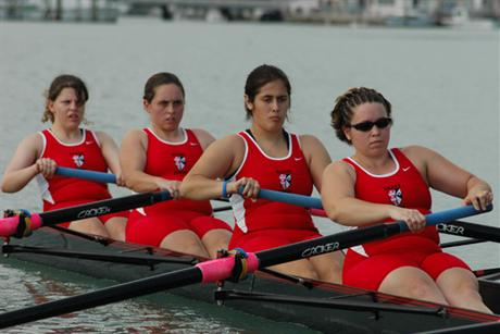 Women's Rowing Competes at Governor's Cup