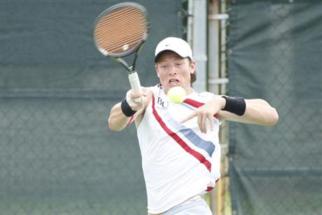 Men's Tennis Drops 5-4 Match To #1 Armstrong