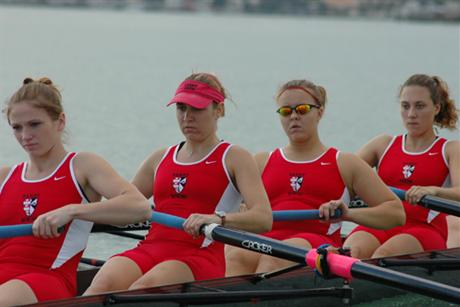 Rowing Take Gold Medal in Varsity 4+ At FIRA