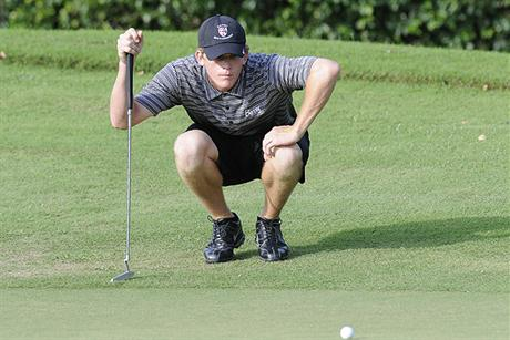 Men's Golf Finishes Tied for 3rd at SSC Tourney