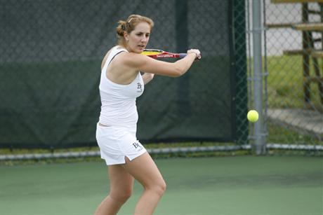 Women's Tennis Blanks Saint Leo in Quaterfinals of SSC Tourney