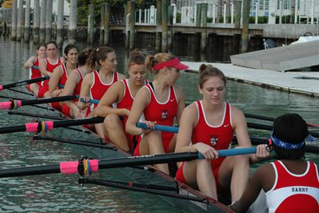 Rowing Places Fourth in SIRA Grand Final