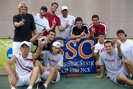 Men's Tennis Claims Sixth SSC Title
