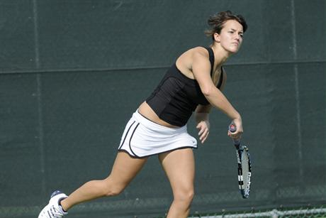 Women's Tennis Bounced Out of ITA Regional